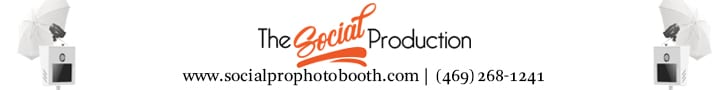 The Social Production Photo Booth 728×90
