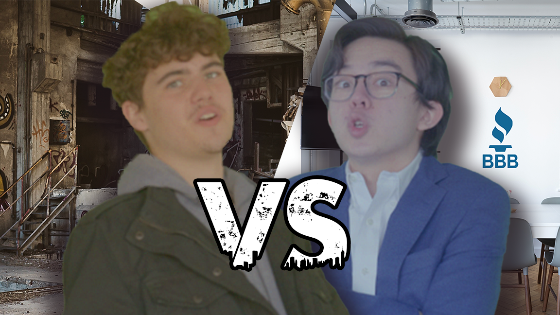 Scammer vs The BBB – Rap Battle