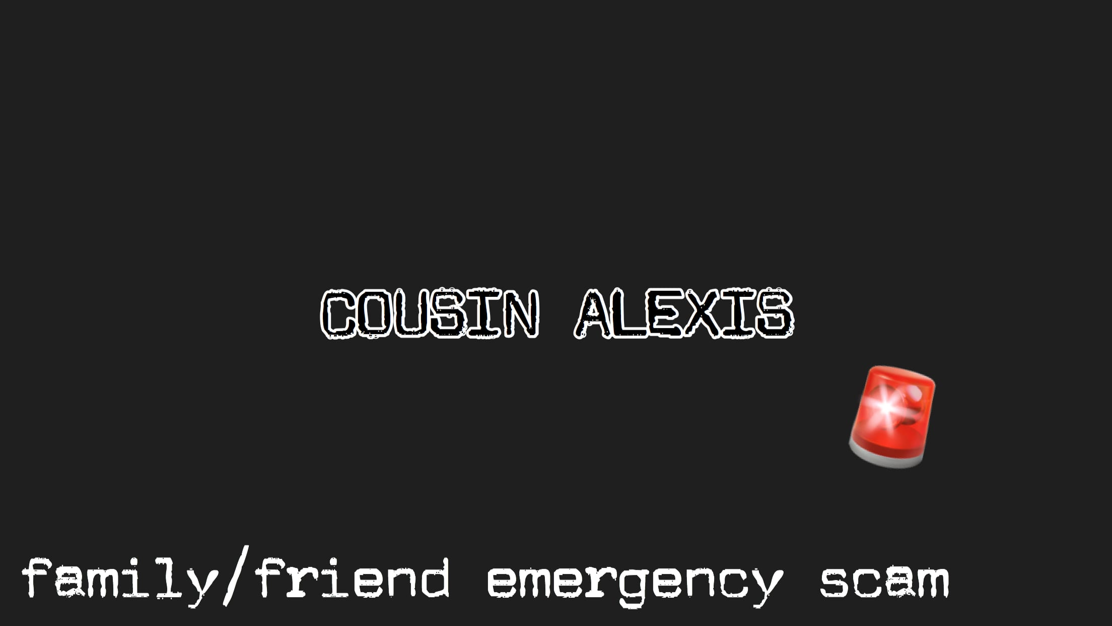 Cousin Alexis