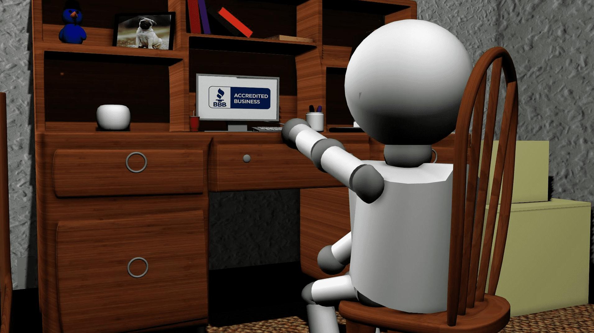 Scam Tracker Animation