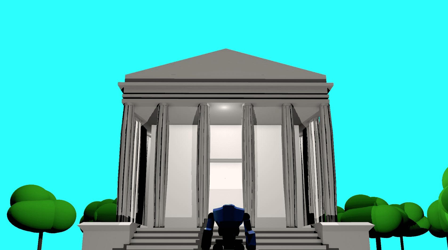 A robots quest for a proper home.