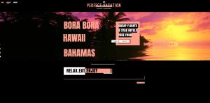 Internet Website Vacation Scam