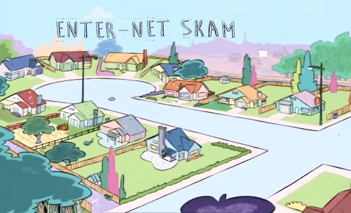 Enter Net Skam
