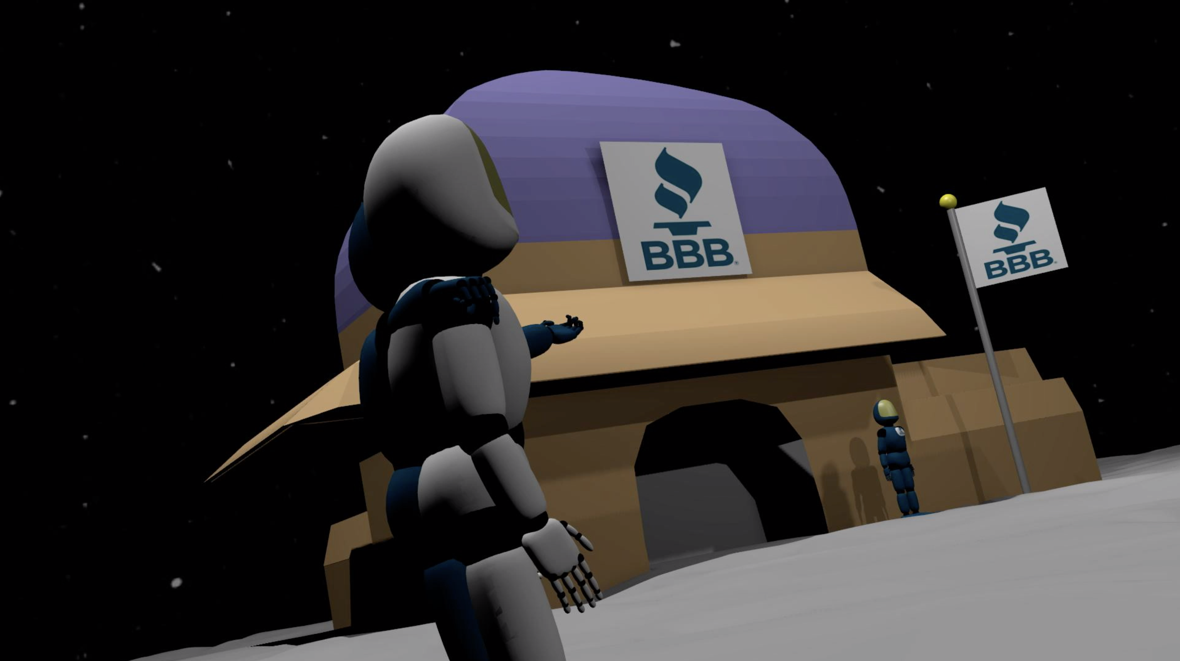 BBB in Space