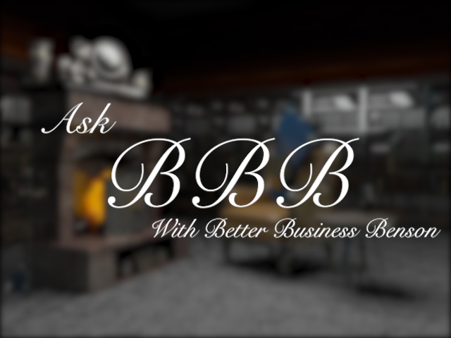 Ask BBB with Better Business Benson